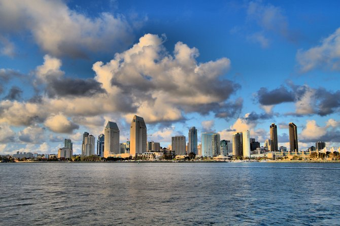 San Diego from Coronado Ferry Landing.
