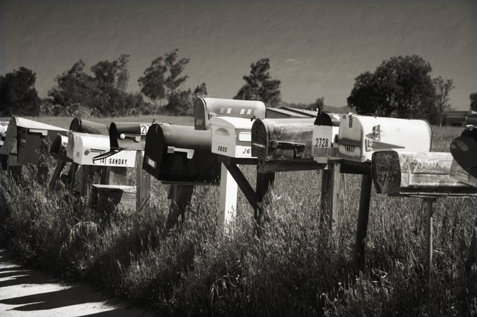 Collection of Mailboxes in Ramona