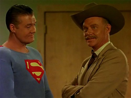 George Reeves and Dabbs Greer.
