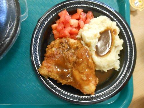 Carla's lunch