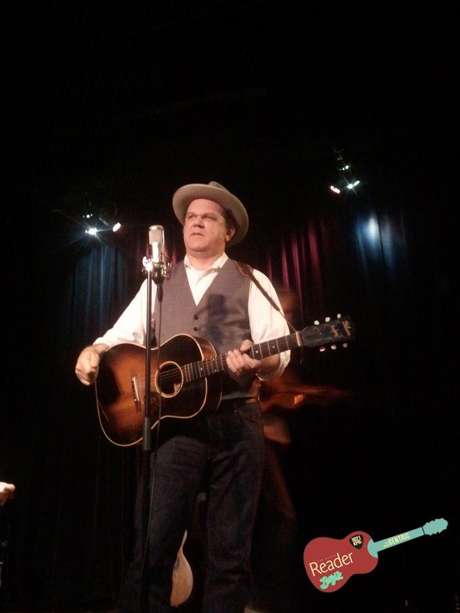 John C. Riley performing at Lestat's on Sunday. Photo credit to Michael Whiteside.