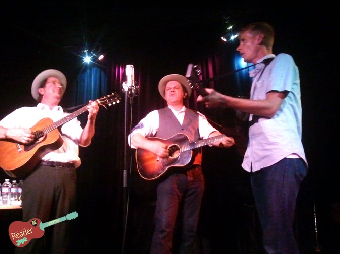 John C Reilly, Tom Brosseau, and Gregory Page