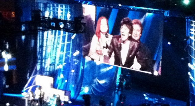 Rock and Roll Hall of Fame: Ronnie Wood's 2012 acceptance speech as a member of The Faces.