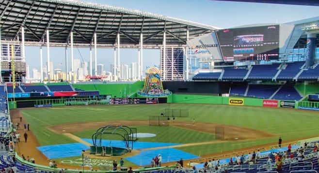 Miami Marlins' new stadium