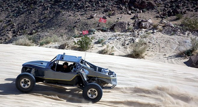 Drive a dune buggy through the desert from Dezert Adventures in Ocotillo.