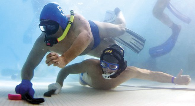 Underwater hockey, also known as Octopush