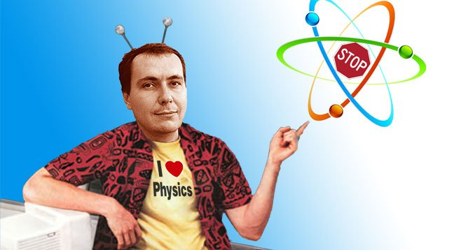 UCSD physicist Dmitri Krioukov claims he beat a ticket by spinning a complicated scientific version of the event.