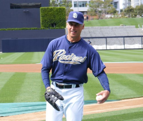 Padres manager Buddy Black