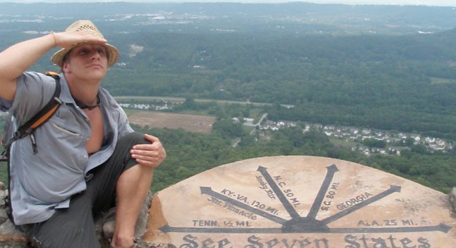 See rock city chattanooga san diego reader taking in the aptly named lookout mountain sciox Gallery