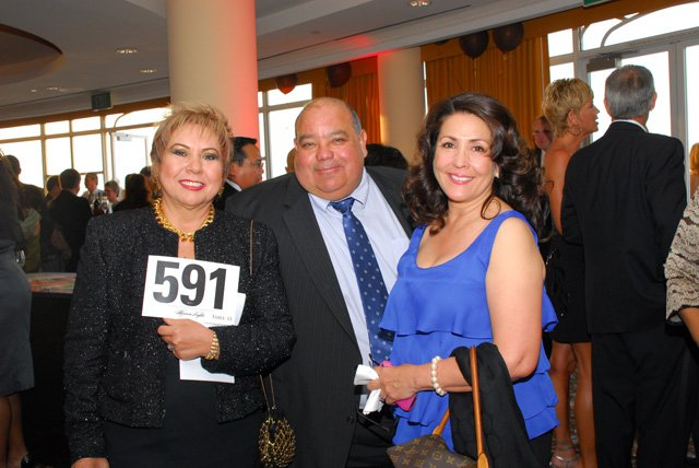 Gary Cabello at Southwestern College Foundation's Gala Night
