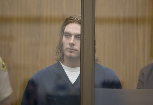 Fletcher Calen at his arraignment.  Photo Bob Weatherston