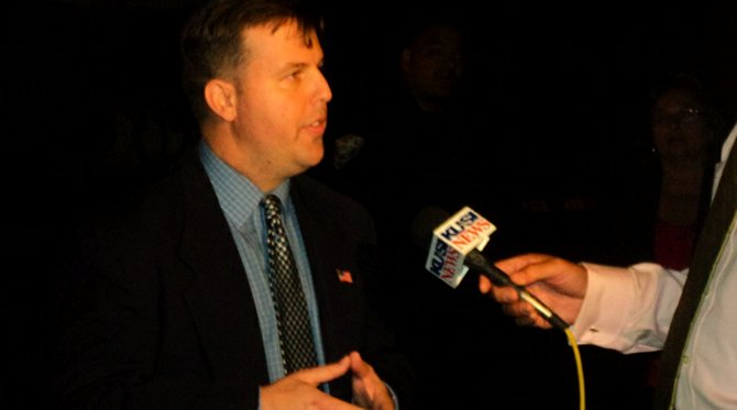 John McCann, interviewing with KUSI prior to his attempt at shaking hands with his detractors, April 16
