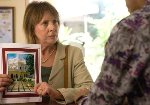 "Jean Ainslee (Penelope Wilton) doesn't exactly bloom at ""The Best Exotic Marigold Hotel."""