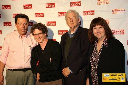 Reader movie critics Scott Marks, Matt Lickona, David Elliott, and Valerie Scher.