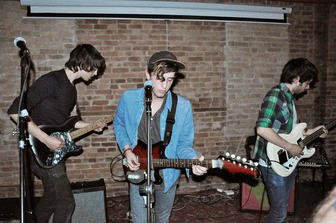 Brooklyn band Beach Fossils wash up at the Irenic in North Park Friday night.