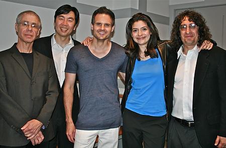 Left to right: Joseph Waters, Jung-Ho Pak, Todd Rewoldt, Lindsay Deutsch, Joel Bluestone