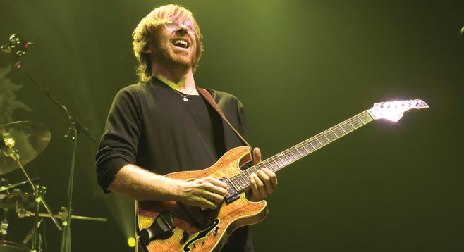 Phish frontman Trey Anastasio wrote the score for Broadway hopeful Hands on a Hardbody, now at La Jolla Playhouse.