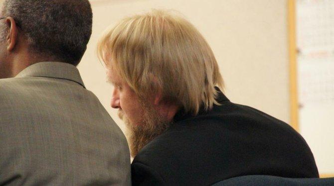 Walter David Hunt II heard the verdict today. Photo Bob Weatherston