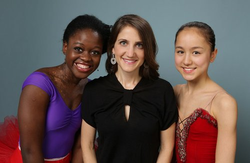 "Ballet Dancer Michaela De Prince, Director/Producer Bess Kargman and Ballet Dancer Miko Fogarty of ""First Position"" pose during the 2011 Toronto Film Festival at Guess Portrait Studio on September 11, 2011 in Toronto, Canada."