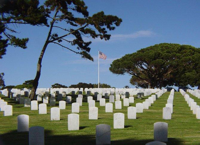 Ft. Rosecrans National Cemetery, Veterans Day 2010