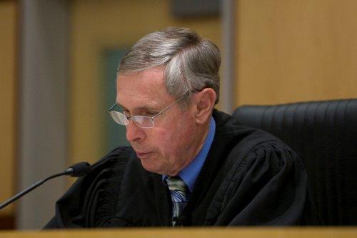 Superior Court Judge Richard Mills.   Photo Bob Weatherston