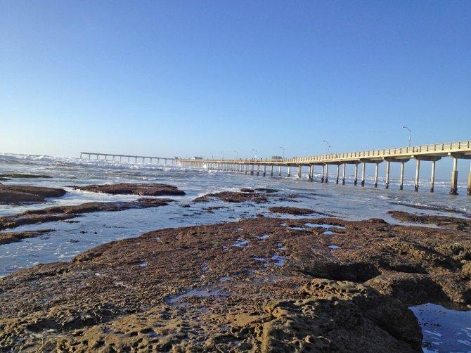 Beautiful Ocean Beach Pier, San Diego, California.