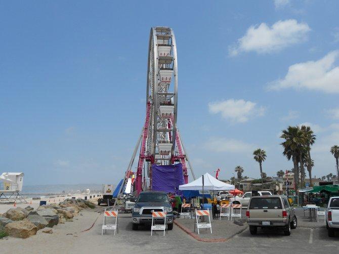 Ferris wheel at O.B. Beach Ball on Friday, May 18, 2012.