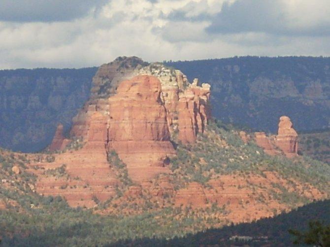 The beautiful mountains of Sedona, Arizona.