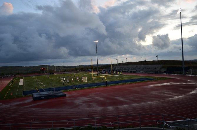 Del Norte High School Lacrosse Game, 4S Ranch, April, 2012.