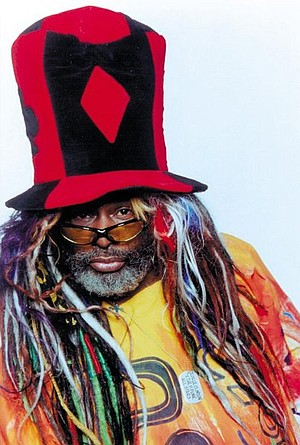 Funkmeister George Clinton & Parliament Funkadelic take the stage at Anthology on Sunday.
