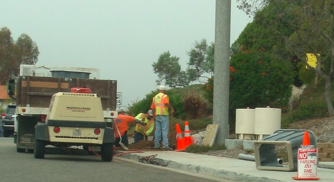 AT&T workers in Ocean Hills