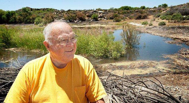 """Busybody"" Howard Cook initiated the sale of Jacumba to Landman."
