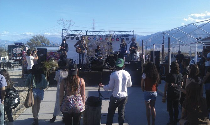 The Mayfly Dance on Dillon's outdoor stage.