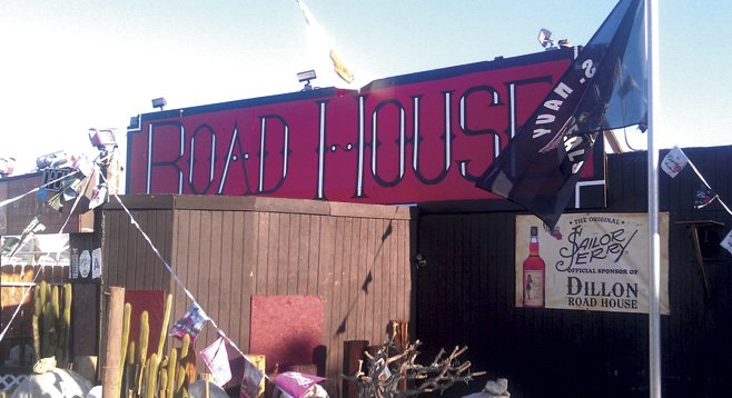 Dillon Roadhouse is a rock-and-roll mirage in Desert Hot Springs.