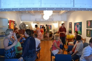 Participants at The Ink Spot