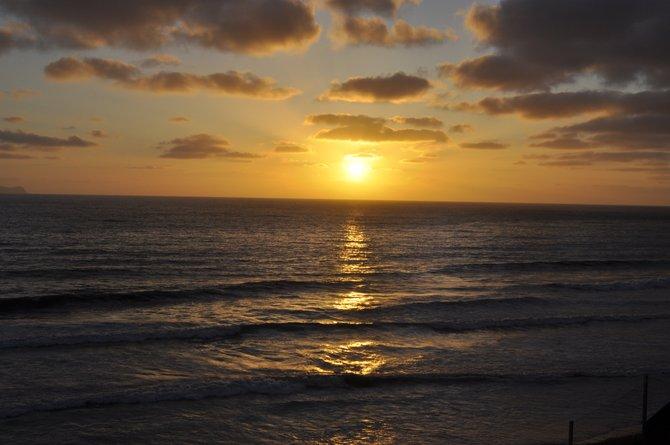Sunset , San Antonio Del Mar, Tijuana, B.C., Mexico