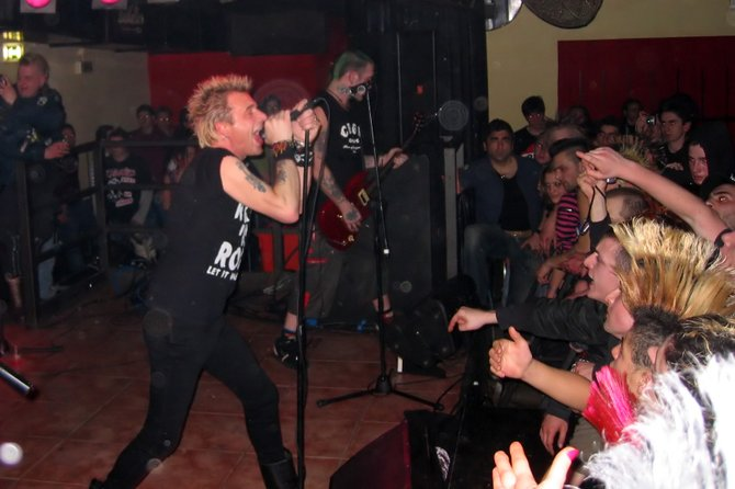 Street punk pioneers GBH hit Casbah Thursday night.