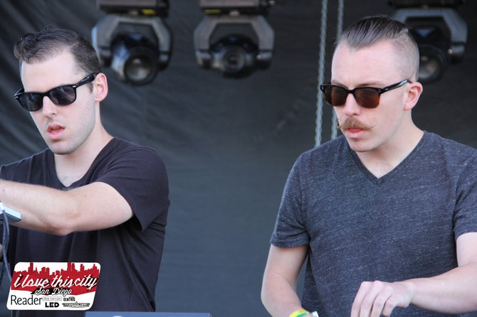 The M Machine - hear their thoughts on EDM as the first spot on the podcast.