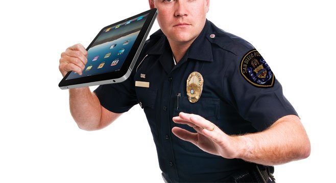 New SDPD intelligence-gathering vehicle will be equipped with three iPads.