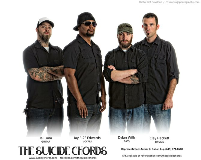 Romance metal: the Suicide Chords play it.