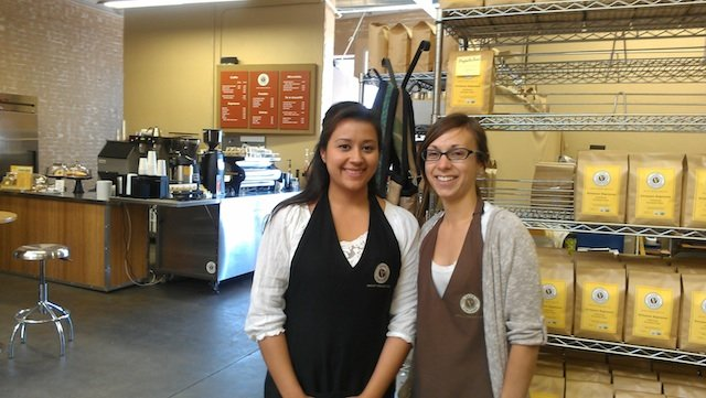 Lauren and Julie - two of the company's seven employees.
