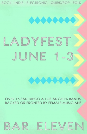 Three-day indie fest featuring women rockers in North Park