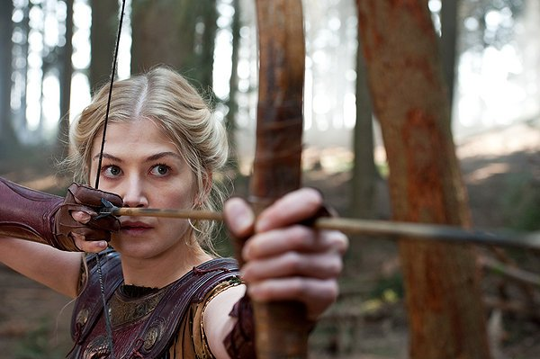 "Rosamund Pike in ""Wrath of the Titans."""
