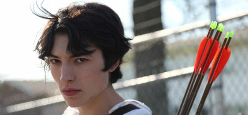 "Ezra Miller in ""We Need to Talk About Kevin."""