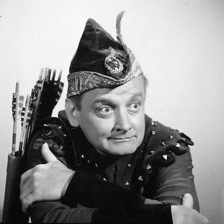 Archer/Sanitorial Engineer, Art Carney.