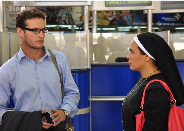 "Angel Bonani and Angelica Vale star in ""Salsa Tel Aviv."""