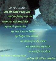 4AM poem