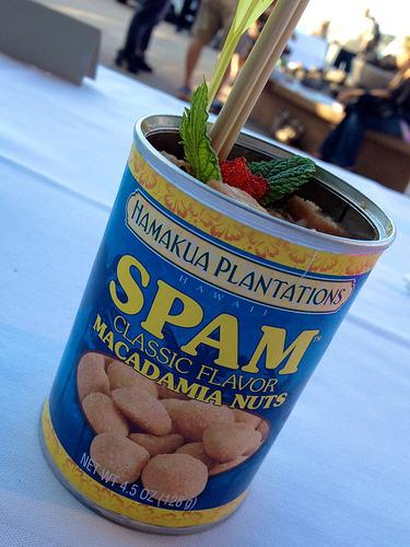 """Any Kine"" SPAM poke from Hapa J's."