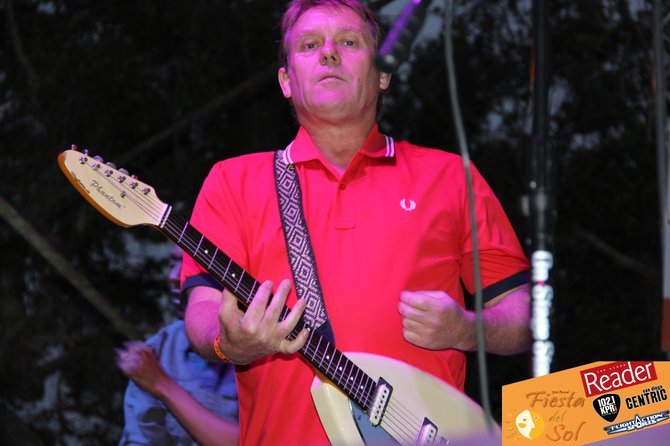 Dave Wakeling of The English Beat on stage.