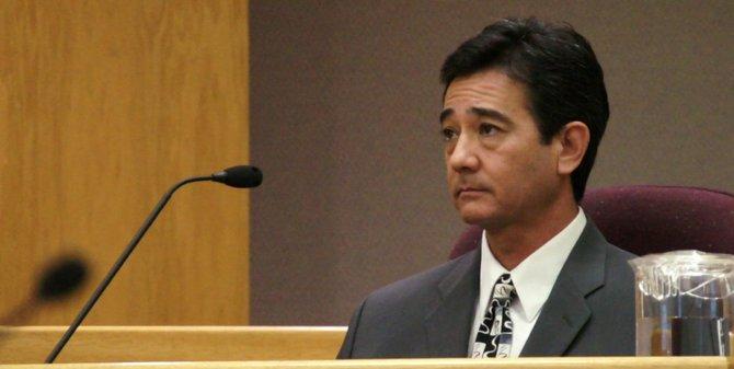 Larry Hoagland still says he's innocent. Photo Bob Weatherston